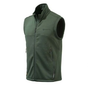 Beretta Static Fleece Vest Green Front