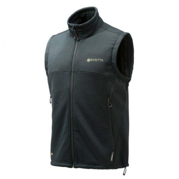 Beretta Static Fleece Vest Black Front