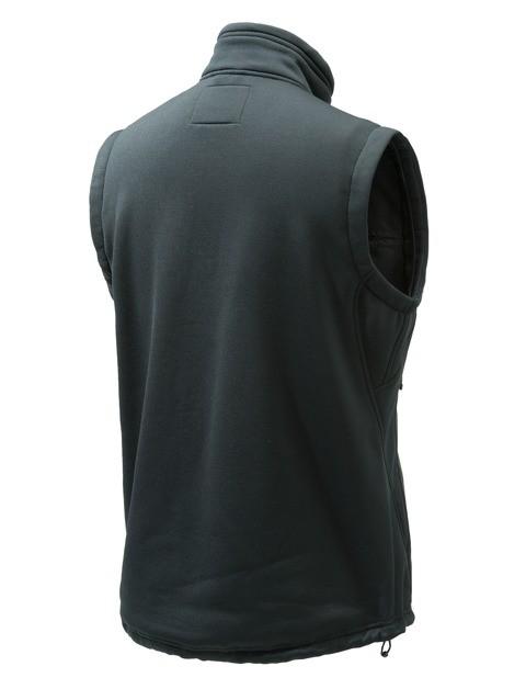 P3111T06570999 Beretta Static Fleece Vest Black Back