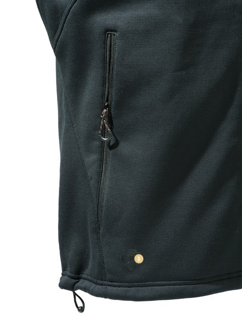 P3111T06570999 Beretta Static Fleece Vest Black Pocket
