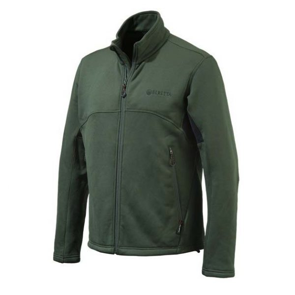 Beretta Static Fleece Jacket Green Front