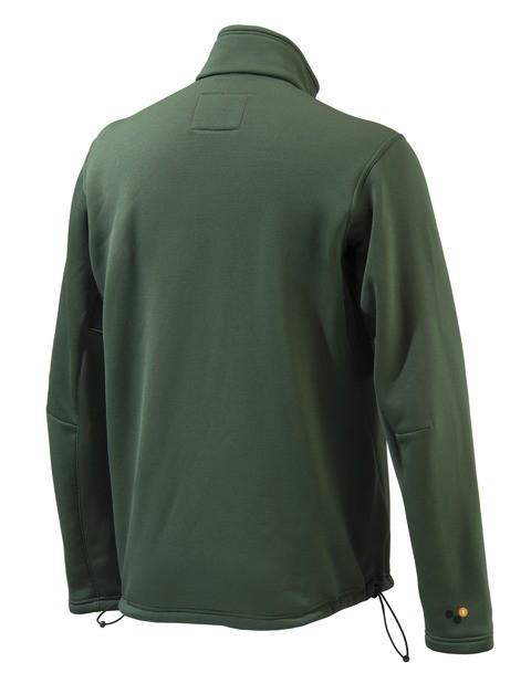 P3121T06570715 Beretta Static Fleece Jacket Green Back