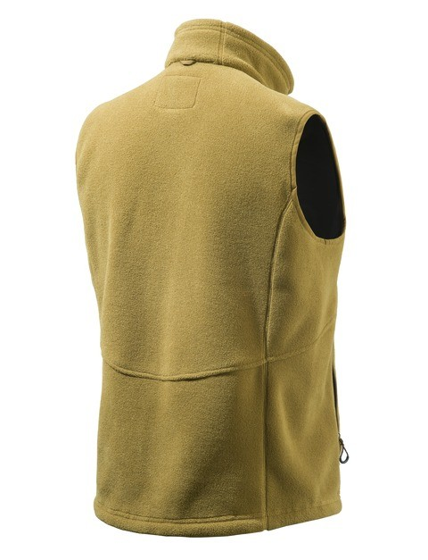 P3161T06540812 Beretta Soft Shell Fleece Jacket Tan Back
