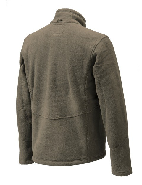 P3171T06540080X Beretta Active Track Fleece Jacket Brown Back
