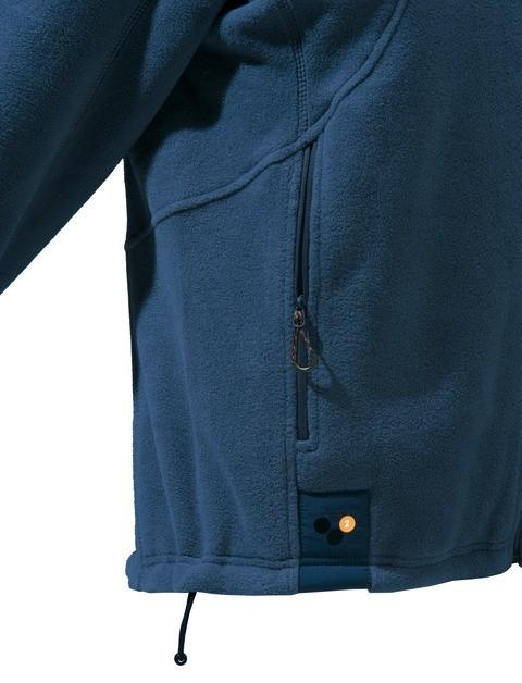 P3171T06540504 Beretta Active Track Fleece Jacket Navy Pocket