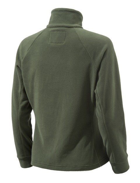 P3321T14340715 Beretta Women's Half Zip Fleece Sweater Green Back