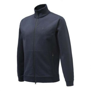Beretta Technowinshield Long Zip Sweater Blue