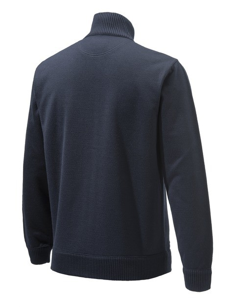 PU411T12010504 Beretta Technowinshield Long Zip Sweater Blue BACK