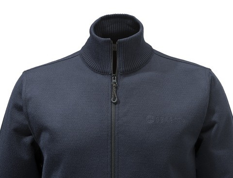 PU411T12010504 Beretta Technowinshield Long Zip Sweater Blue Collar