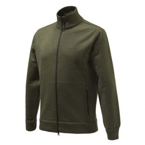 Beretta Techno Windshield Long Zip Sweater Green