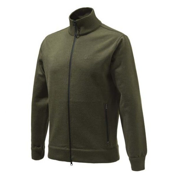 Beretta Techno Windshield Long Zip Sweater Green