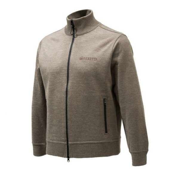 Beretta Techno Windshield Long Zip Sweater Hazel