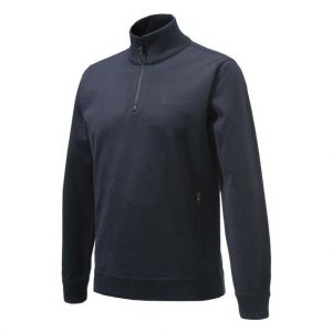 Beretta Techno Windshield Half Zip Sweater - Blue