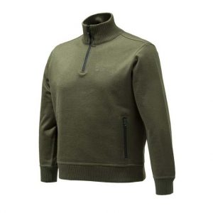 Beretta Techno Windshield Half Zip Sweater - Green
