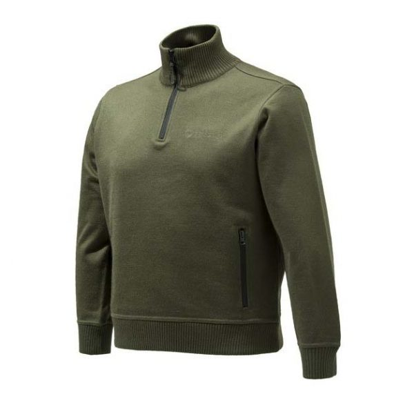 Beretta Techno Windshield Half Zip Sweater - Green