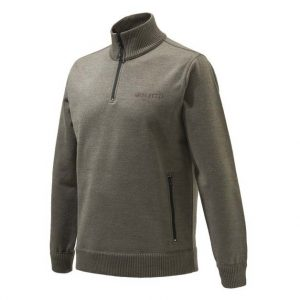Beretta Techno Windshield Half Zip Sweater - Hazel