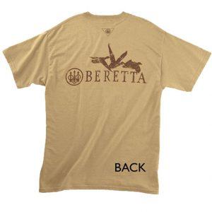 TS5170850127 Beretta Waterfowler T Shirt Tan Back