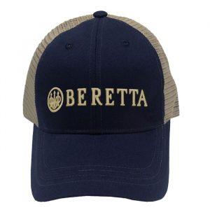 BC052016600523 Beretta Trucker Hat- Navy - Front