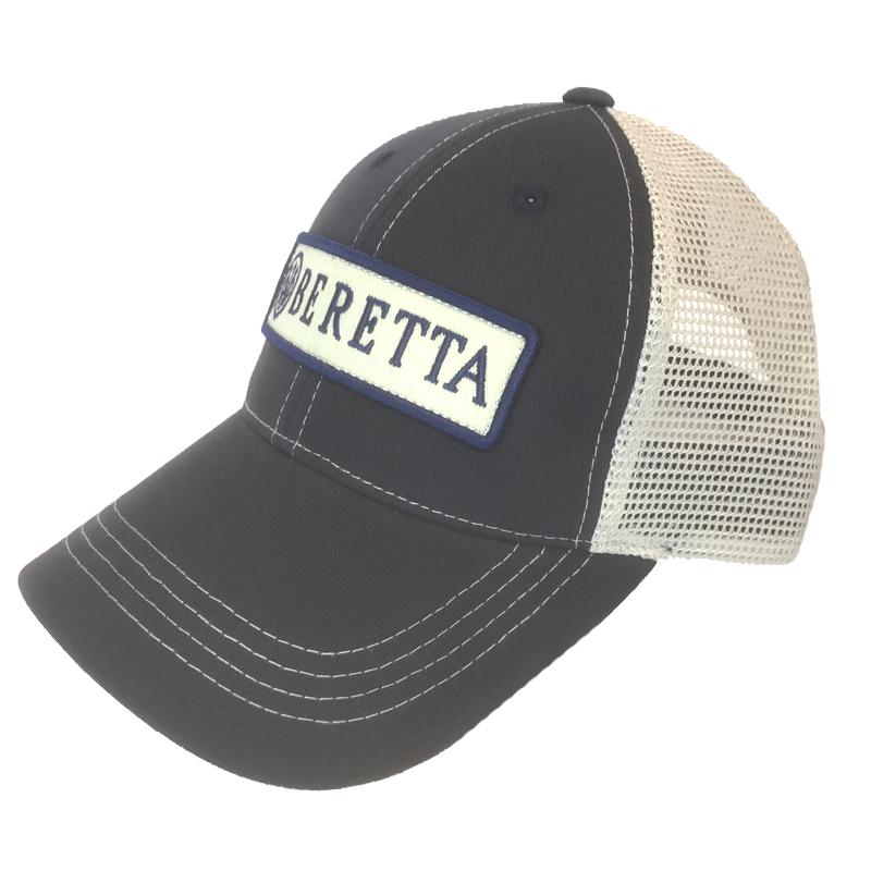 9b86a39d7cb BC062016600523 Beretta Patch Trucker Hat Navy Side