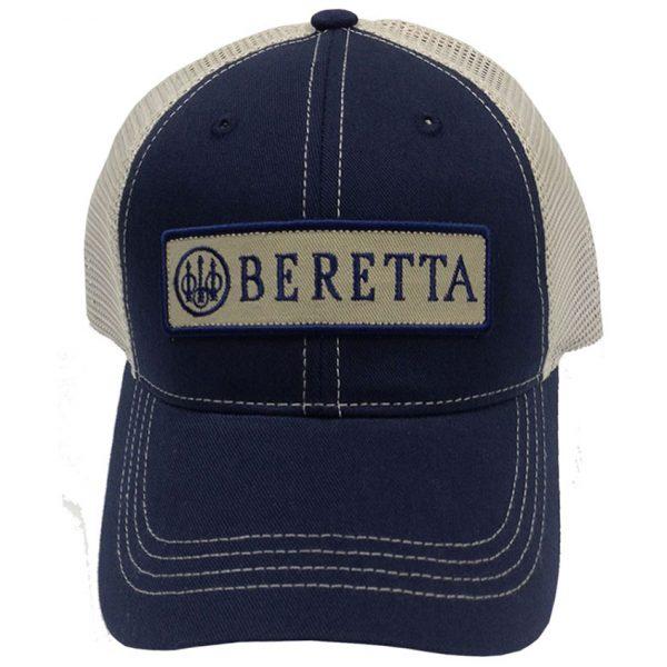 BC062016600523 Beretta Patch Trucker Hat Navy Web