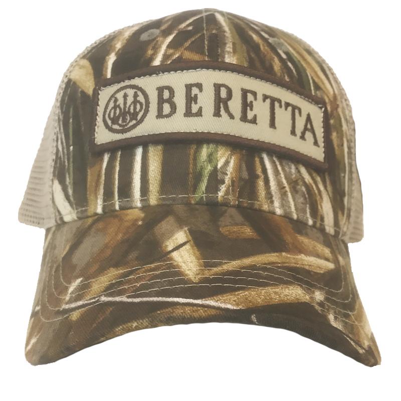 BC062016600858 Beretta Patch Trucker Hat Max5 Front
