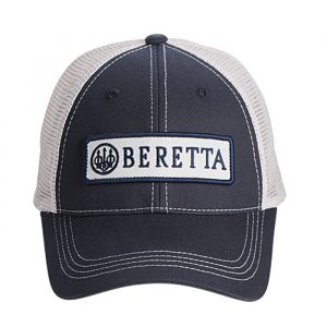 BC06201660 0543 - Beretta Patch Trucker Hat - Navy - Front
