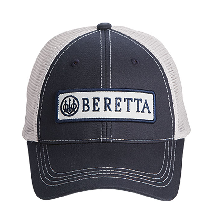 a82a87ccb6 BC06201660 0543 - Beretta Patch Trucker Hat - Navy - Front