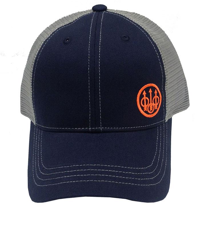dfc9881c6f1 Beretta Trident Logo Trucker Hat – Navy – Stoeger Canada