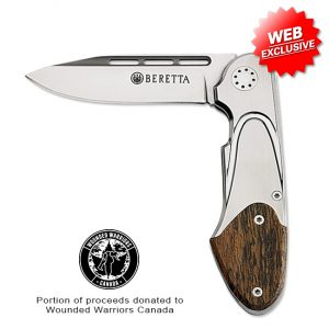 PB C070 Beretta Perennia Bascula Knife Open Web