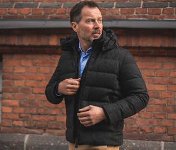 Man in Beretta coat