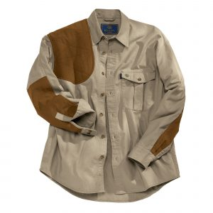 Beretta Mens Upland Shooting Shirt - Brown