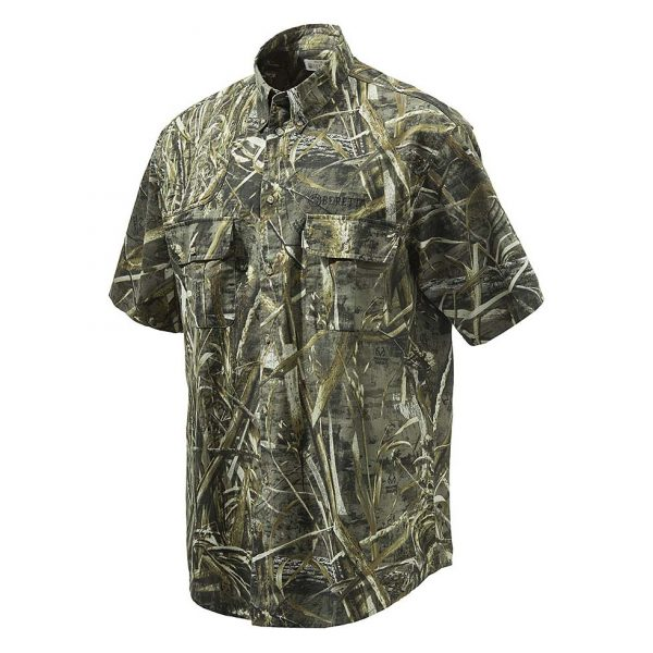Beretta Shooting Shirt Camouflage Short Sleeve