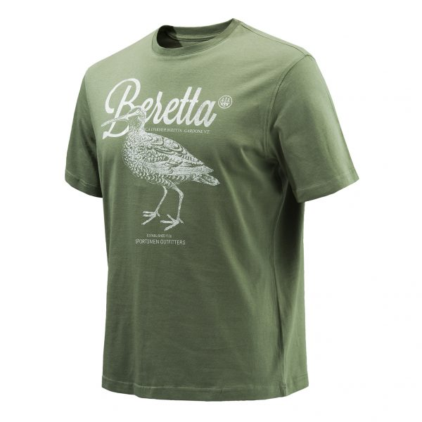 Beretta Woodcock Graphic T-Shirt - Green