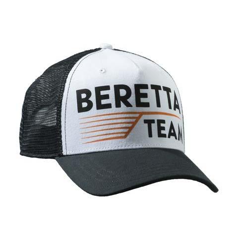 Beretta Team Hat - Black and White