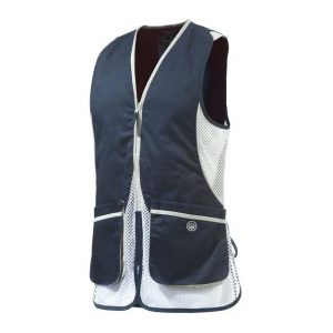 GT111021130543 Beretta Womens Shooting Vest Blue Front