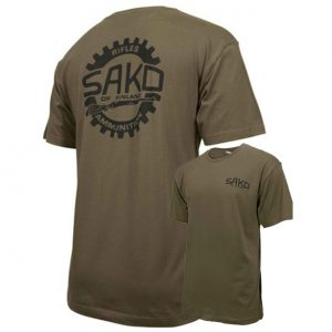 Sako Old Skool T-Shirt - Army Green