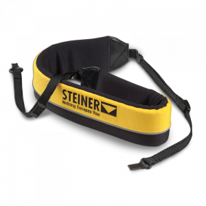 Steiner Floating ClicLok Neck Strap - Black & Yellow