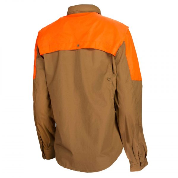 LD511T1184081G Beretta Woman American Upland Shirt Brown And Orange