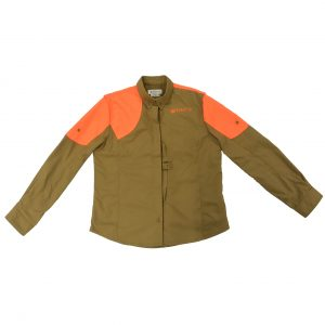 Beretta Women Upland Shirt LT Brown and Orange