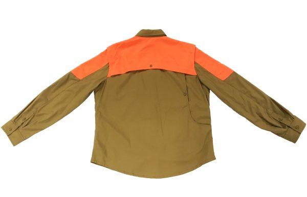 LD511T1184081GM Beretta Women UPLAND SHIRT LT BROWNORANGE Back