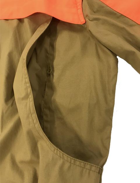LD511T1184081GM Beretta Women UPLAND SHIRT LT BROWNORANGE Back Pouch