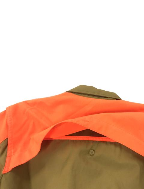 LD511T1184081GM Beretta Women UPLAND SHIRT LT BROWNORANGE Back Shoulder