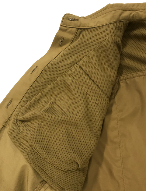 LD511T1184081GM Beretta Women UPLAND SHIRT LT BROWNORANGE Front Inside Pocket
