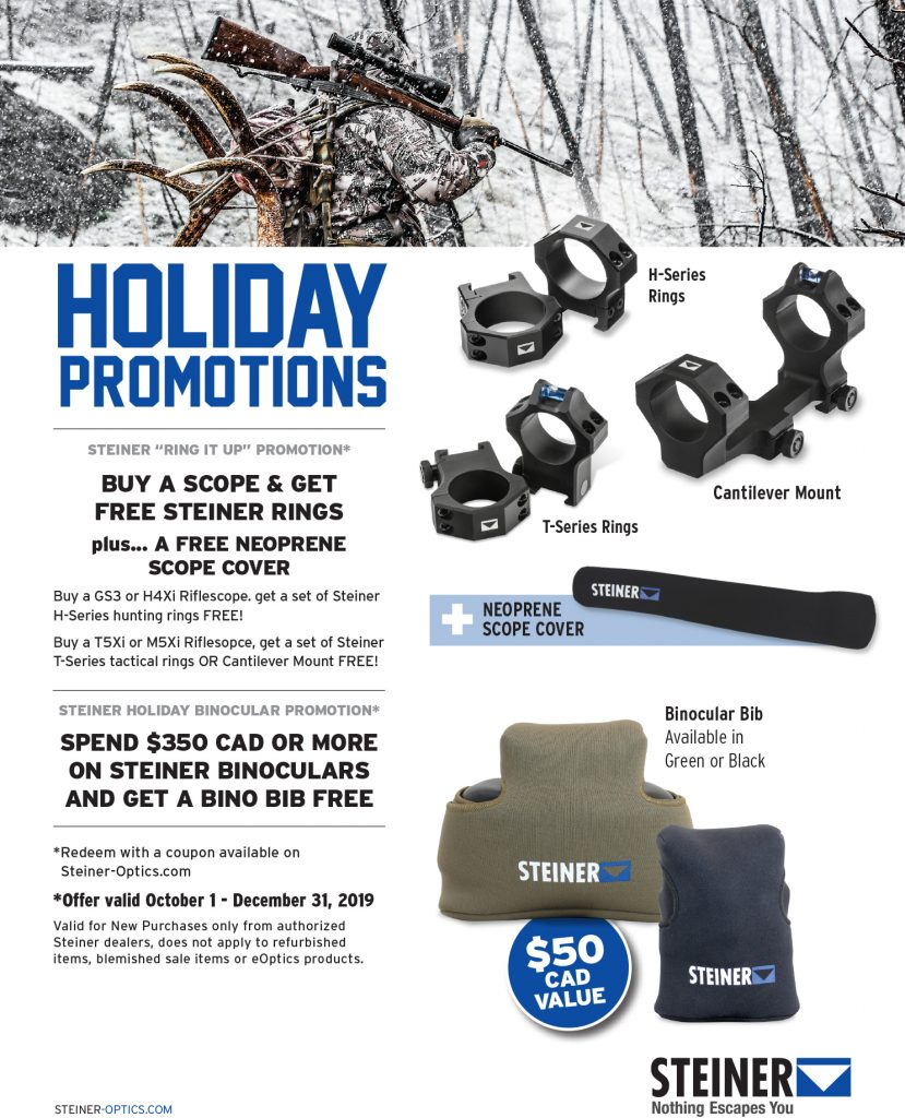 2019 Holiday Promo Flyer Canadian