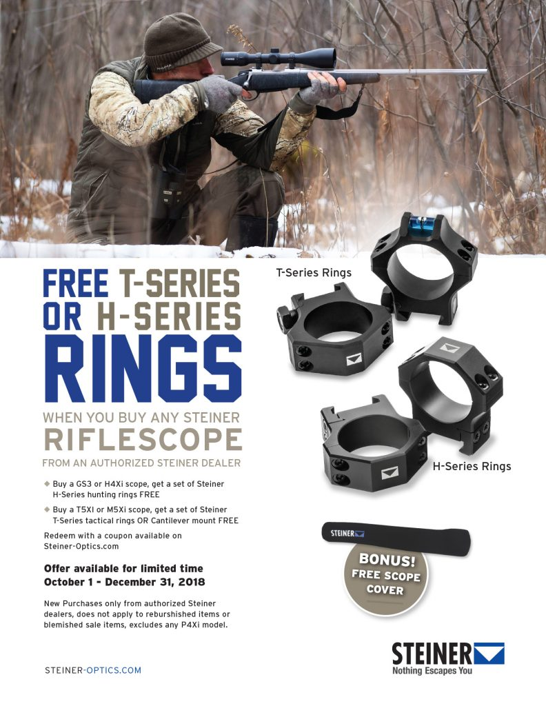 Steiner 2018 Free Rings Promotional Flyer