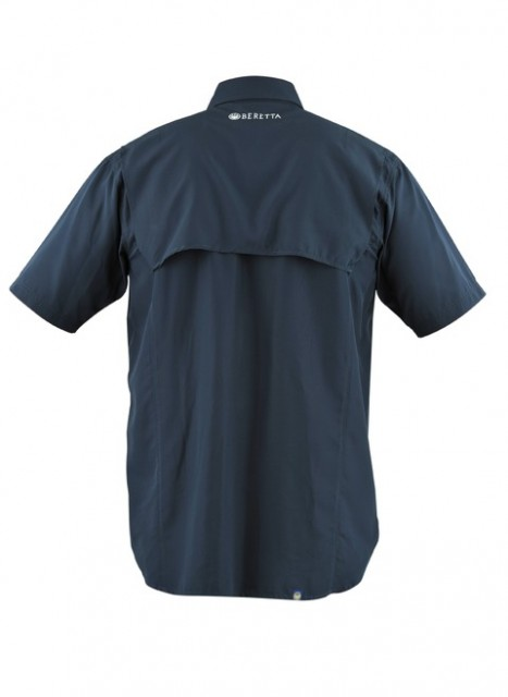 LT100075520504 Beretta V Tech Shooting Shirt BACK