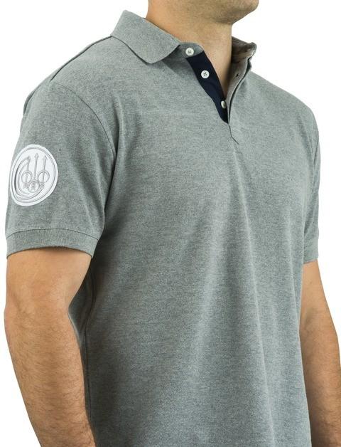 MT270071020905 Beretta Uniform Pro Polo Detail Grey