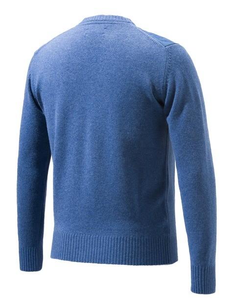 PU441T11940538 Beretta Classic Round Neck Sweater Avio Back