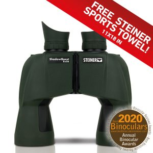 Hunting Binoculars ShadowQuest 8x56, FV, Mirror, Steiner