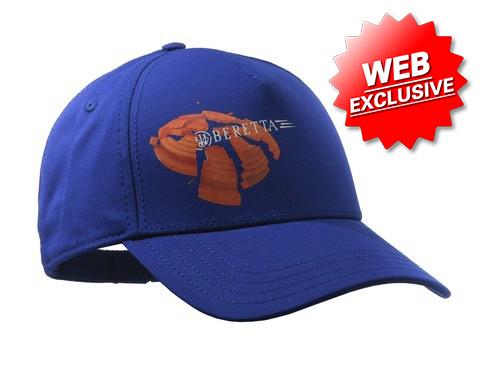 Beretta Broken Clay Hat Blue BT023T15620560 Web